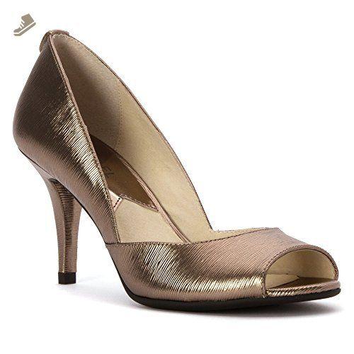 MICHAEL Michael Kors Womens Nathalie Peep Toe Classic Pumps - Michael  michael kors pumps for women