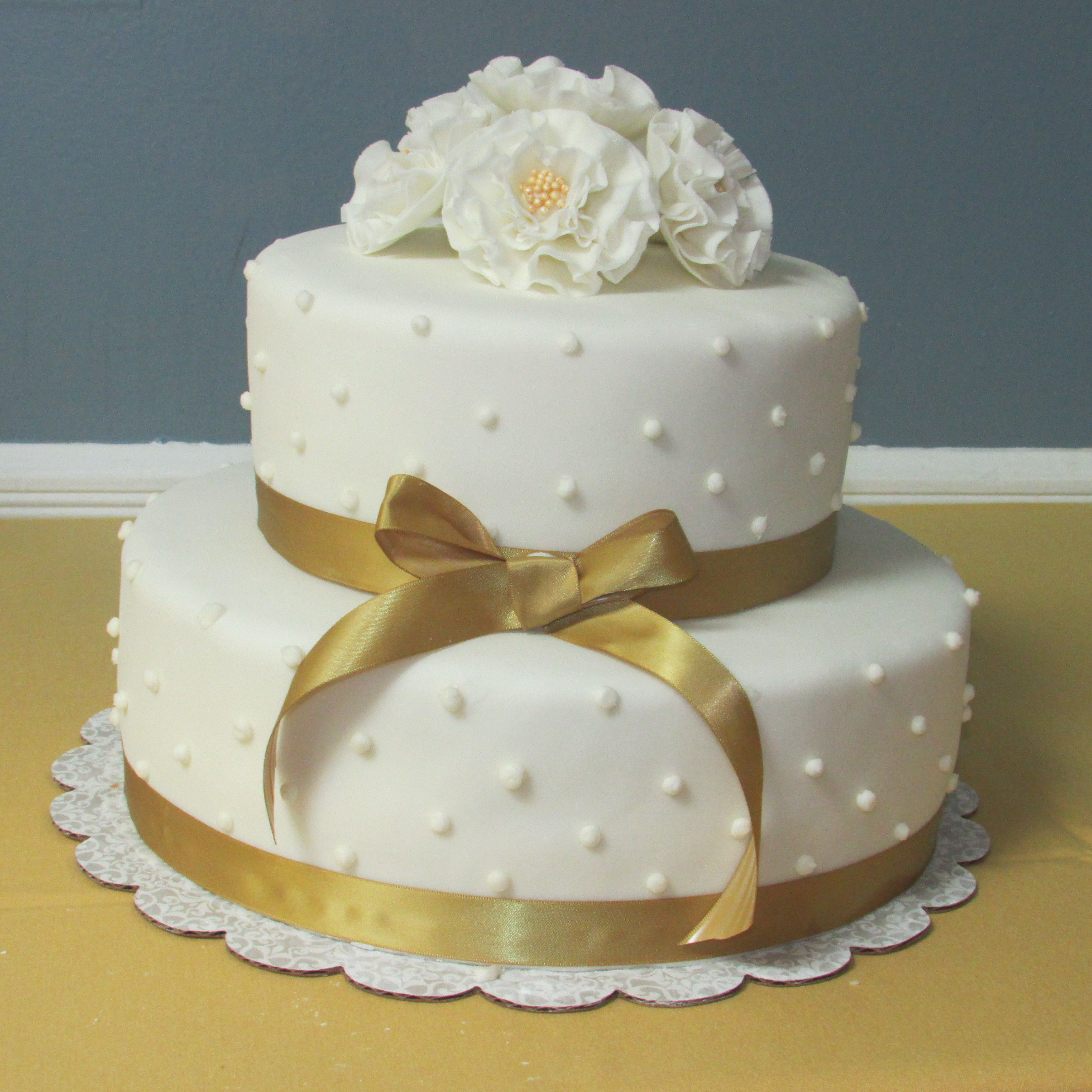 Cake Ideas For Wedding Anniversary: 50th Anniversary Cake By Nancy Cakes