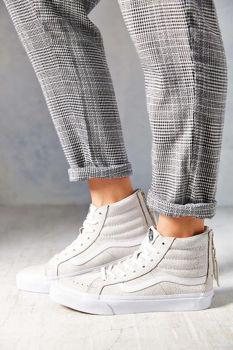 aee38974197e Vans Crackle Suede Sk8-Hi Women s High-Top Sneaker