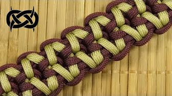 How to make a Rigid King Cobra Paracord Buckle Bracelet - YouTube                                                                                                                                                                                 More