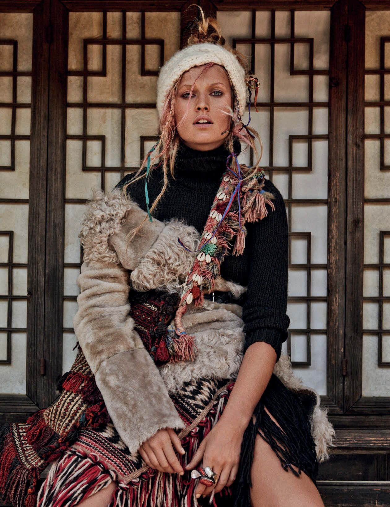 Garrn toni vogue germany july pictures