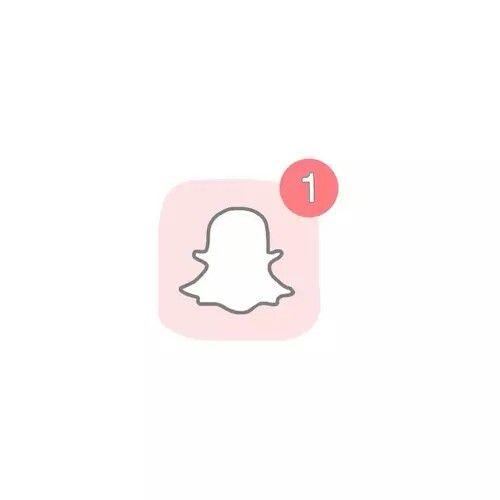 Snapchat Snapchat Logo Cute App Baby Pink Aesthetic