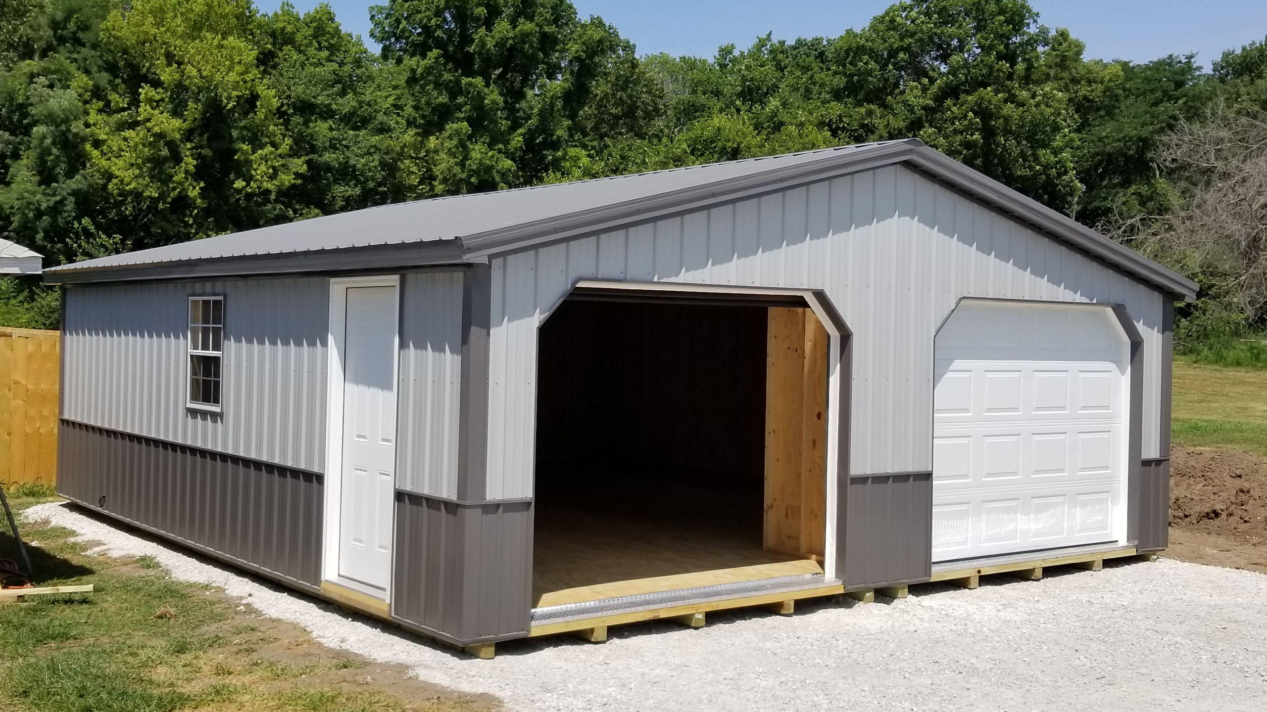 Deluxe Metal Garages Metal garages, Garage, Rockville