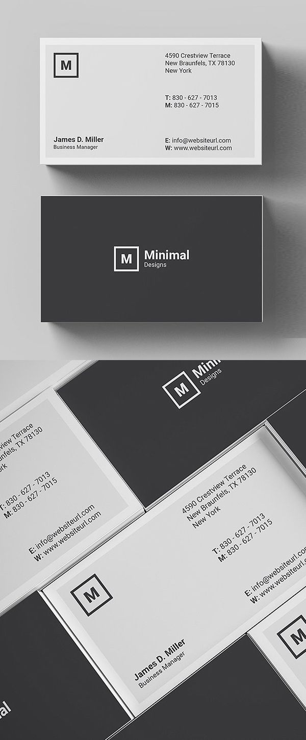 Card Minimaldesign Businesscard Psdtemplate Branding Identity Cleandesign Simpledesign Minimalist