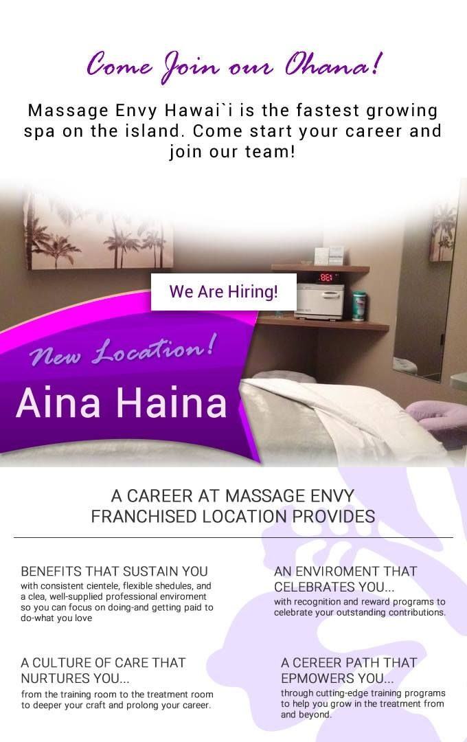 Massage Envy Wellness Featurefriday You Deserve A Career That Helps Feel And Deliver Your Best Join