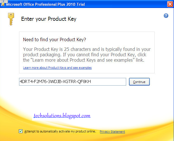 office professional plus 2010 product key activation