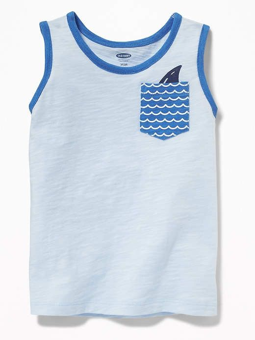 c9dd7644 Old Navy Surf-Graphic Pocket Tank for Toddler Boys | Products ...