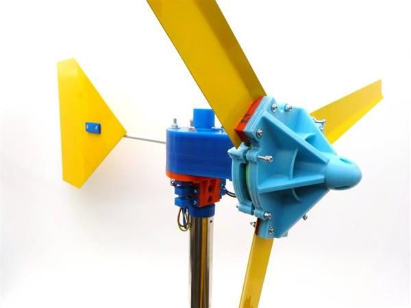 picture relating to 3d Printable Wind Turbine identified as - Harvest your particular electric power employing 3D posted wind
