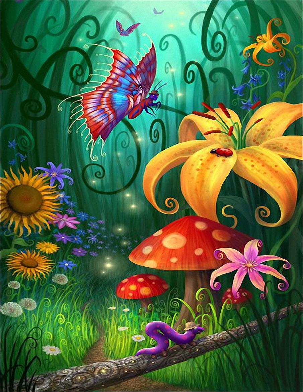 Mis Laminas Para Decoupage Psychedelic Art Mushroom Art Art