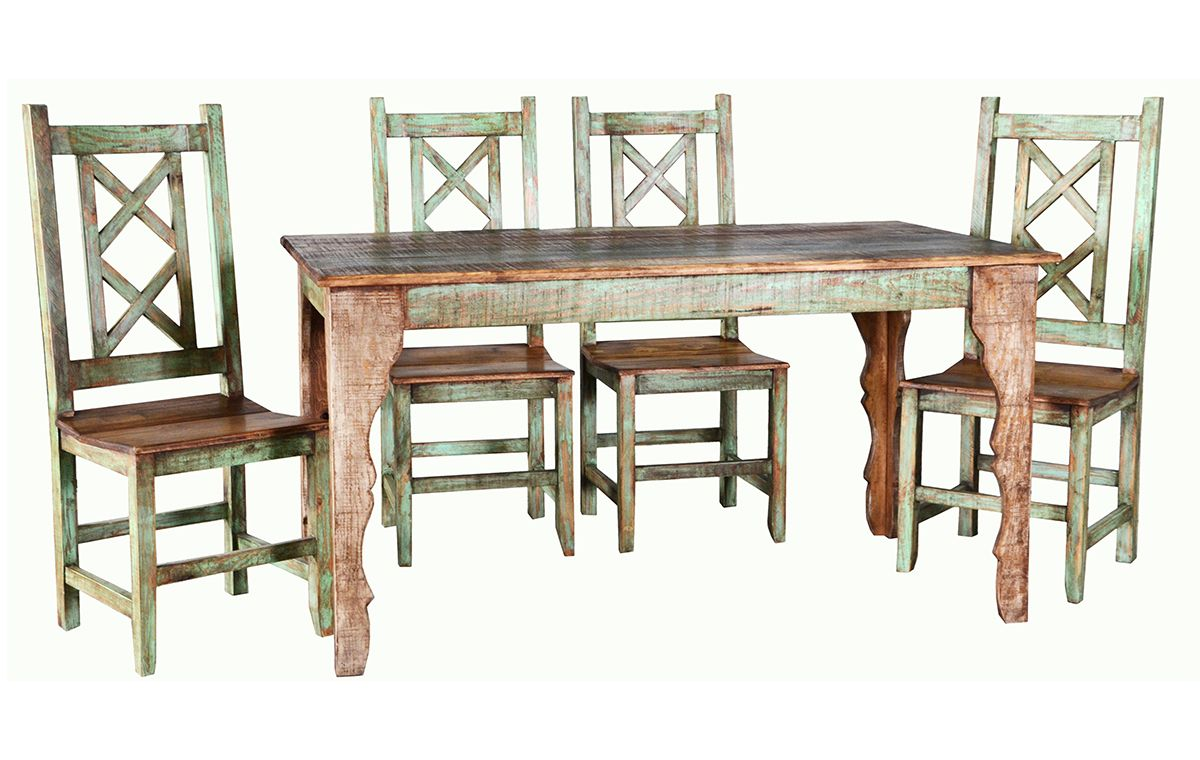 Rusticos Sierra Cabana Dining Table Collection Furniture Market Austin Texas Rustic Dining Room Sets Rustic Kitchen Island Painted Dining Chairs