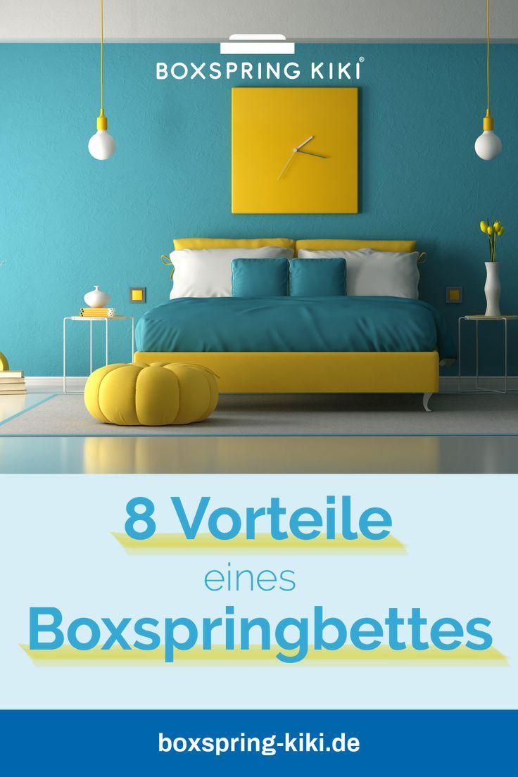 8 Vorteile Von Boxspringbetten Ratgeber Auf Einen Blick Boxspringbett Haus Deko Schlafzimmer Einrichten