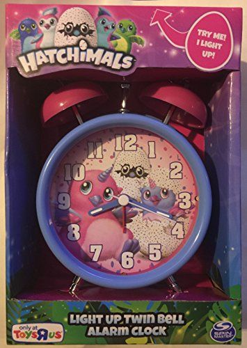 Hatchimals Light Up Twin Bell Alarm Clock Hatchimals Hatchimals Light Up Clock