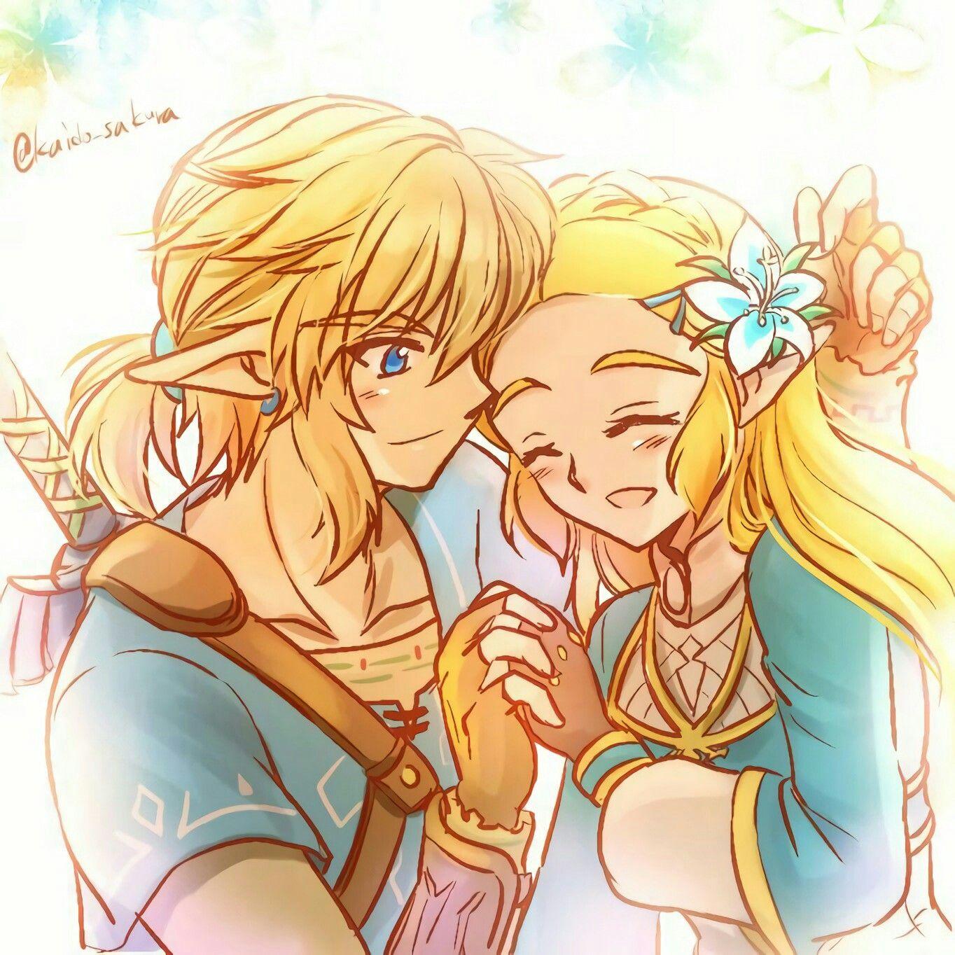 Link X Zelda Legend Of Zelda Legend Of Zelda Breath Link