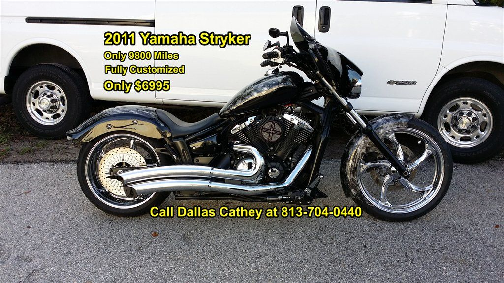 2011 Yamaha Stryker | Bikes | Pinterest | Custom motorcycles, Wheels ...