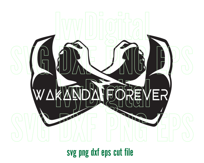 Marvel Black Panther Svg Wakanda Forever Hand Arm Sign Clipart Silhouette Birthday Shirt Black Panther P Black Panther Party Black Panther Marvel Black Panther