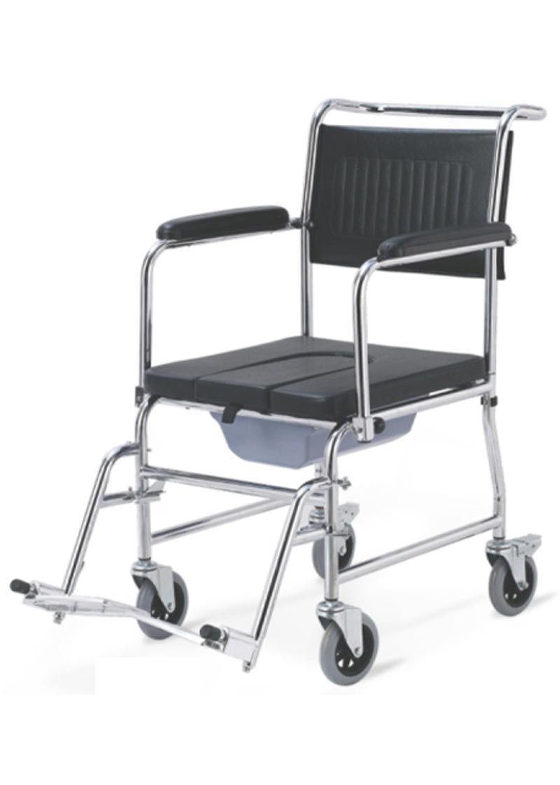 rolling shower commode chair | shower commodes | pinterest