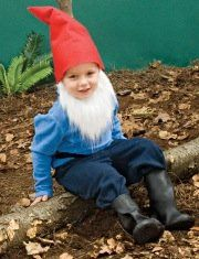 gnome! Eli's future Halloween costume!