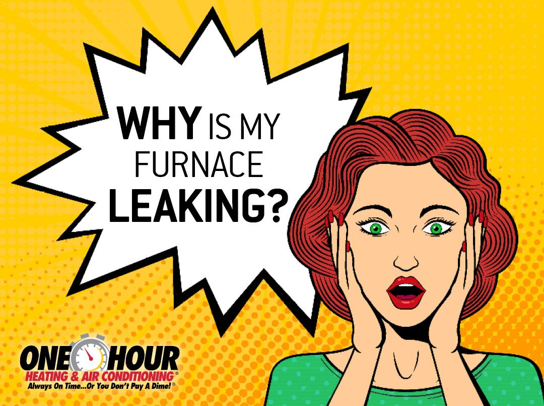 Why is My Furnace Leaking? in 2020 Furnace, Leaks, A dime