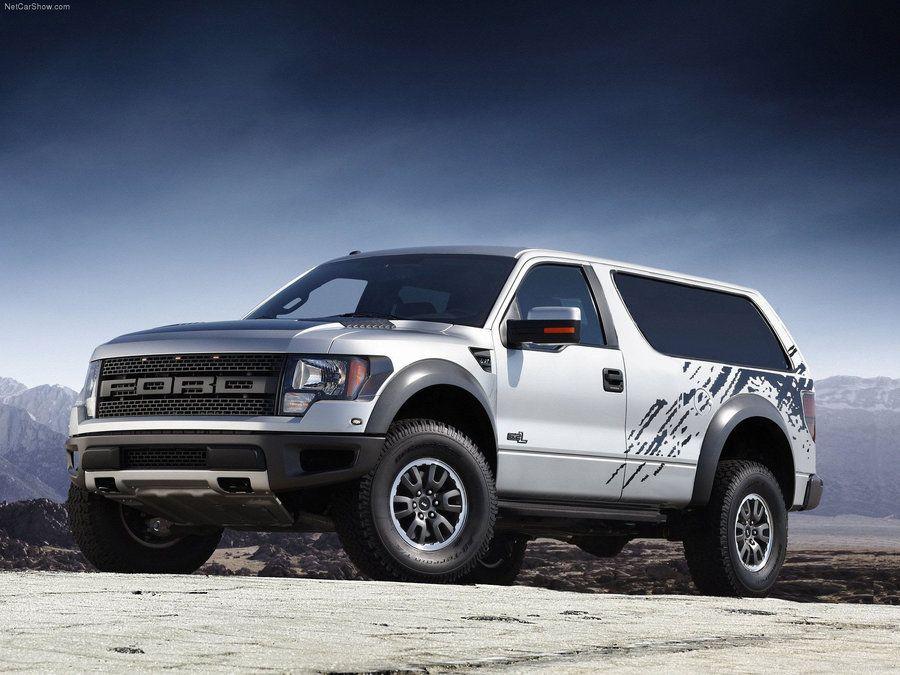 Ford Bronco Svt Raptor Concept Ford Raptor