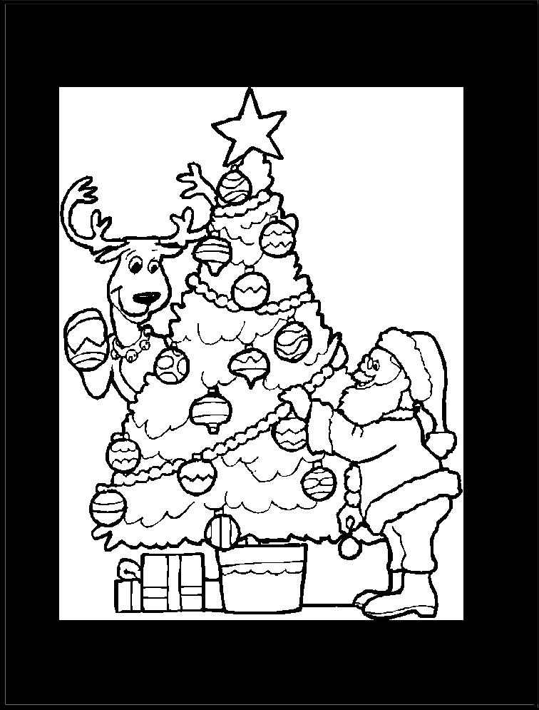 Encantador Navidad Para Colorear Páginas De Santa Modelo - Páginas ...