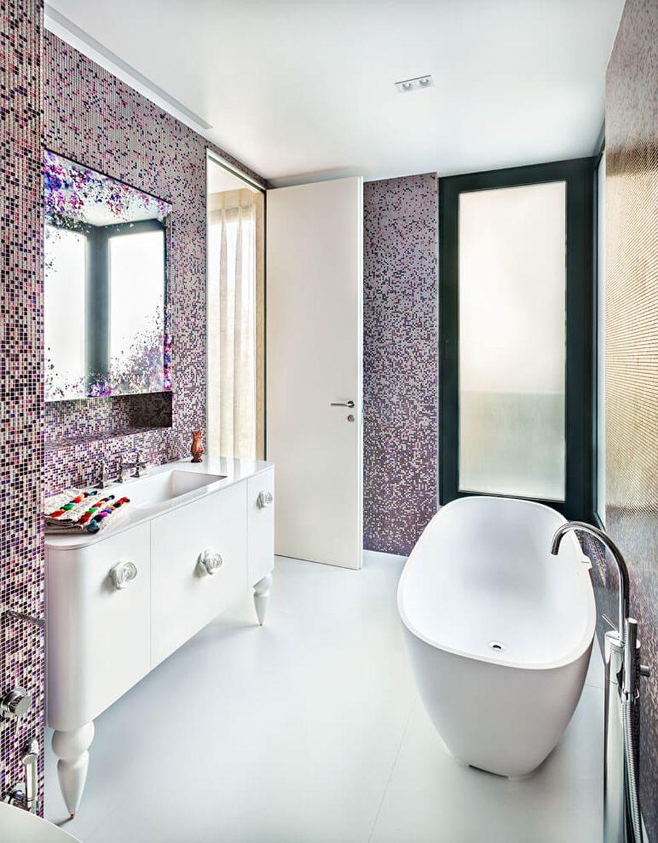 Colonne Salle De Bain ~ Appartement Moderne Au Design L Gant Et Minimaliste Appartements
