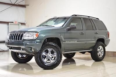 Ebay 2004 Jeep Grand Cherokee Overland Lifted 4x4 2004 Jeep Grand
