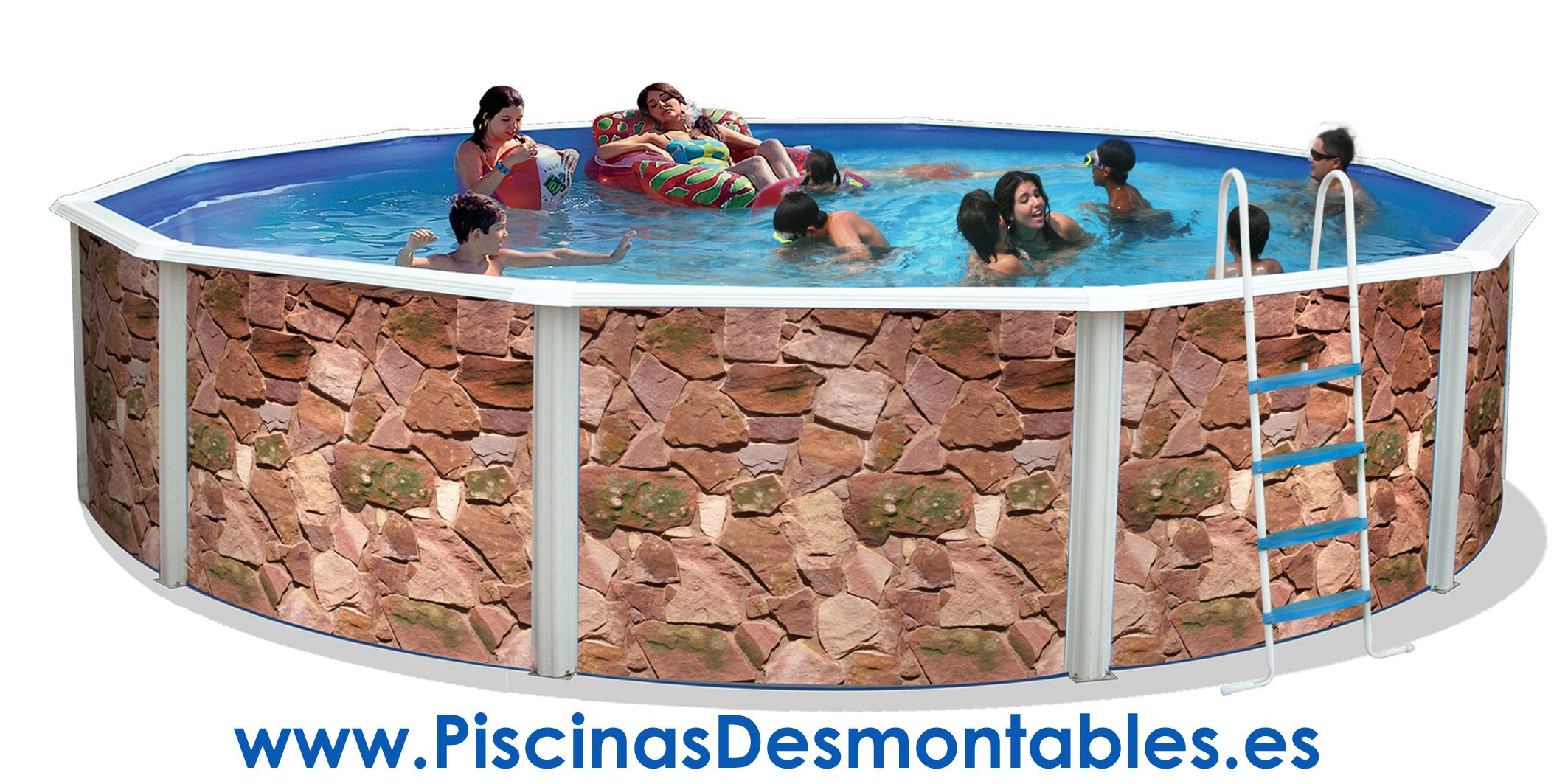 Las piscinas de imitaci n a piedra de toi est n tan bien - Fabricante de piscinas ...