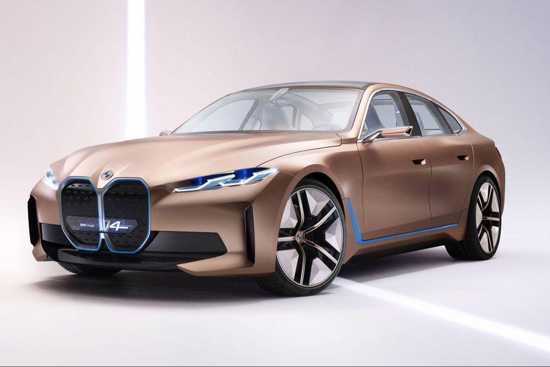 Bmw I4 In 2020 Bmw Concept Bmw Electric Car Bmw