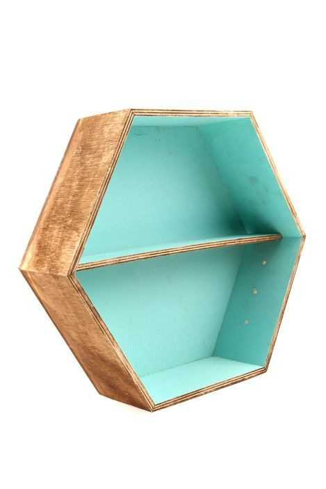 large hexe shadow box FRANKIE BLUE