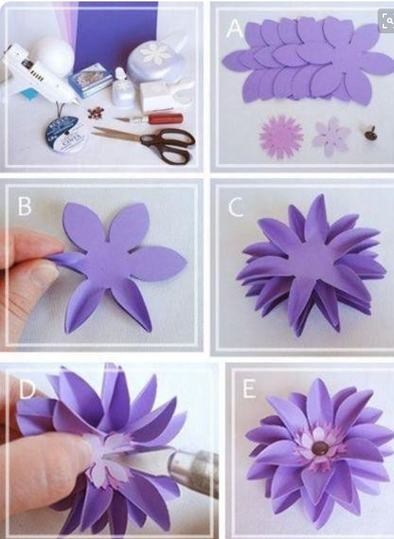 Pin By توتو الاميرة On افكار Paper Flower Tutorial Paper