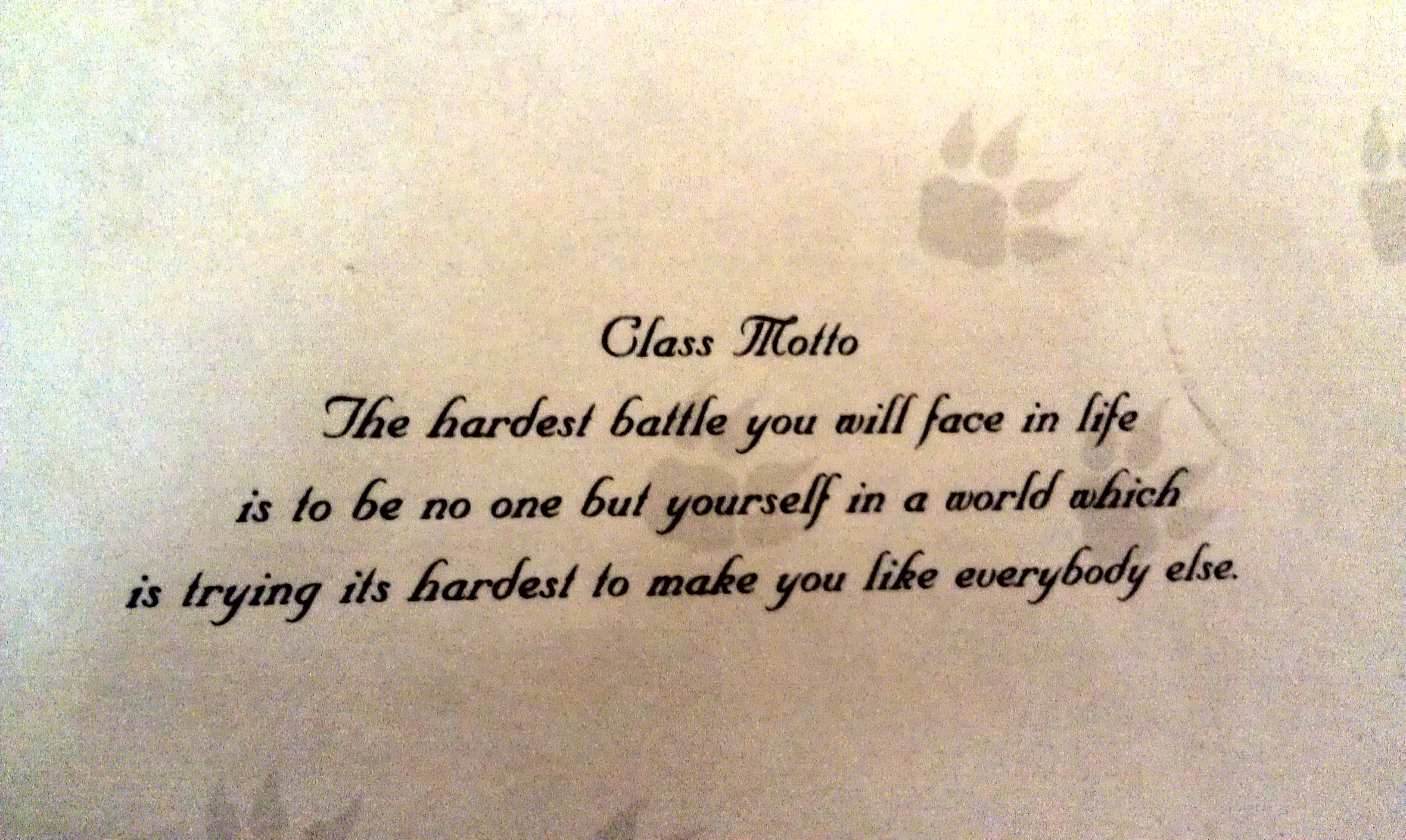 Pin By Michelle Stout On Graduation Senior Class Quotes Class Motto Class Quotes