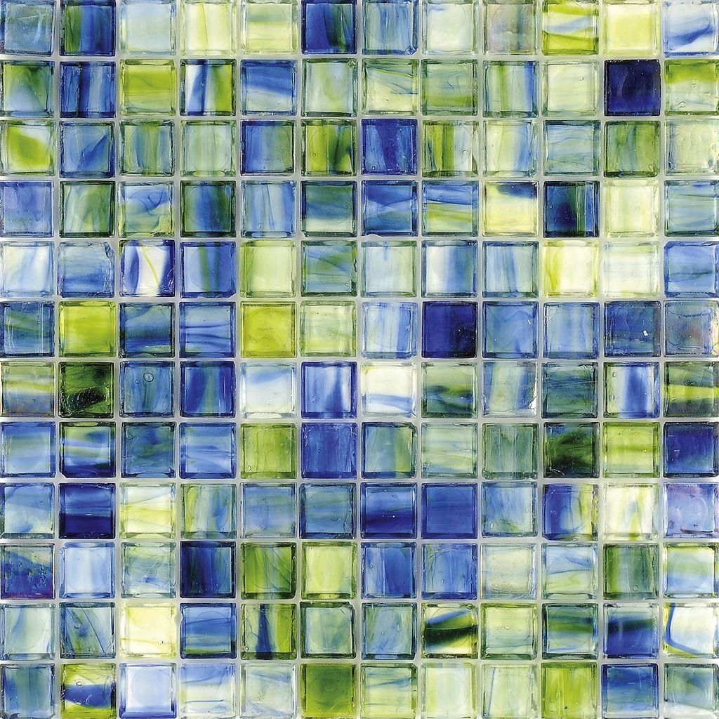 Stained Glass Tile Sea Caribbean Clear Stained Glass Tile Glass Backsplash Mosaic Glass
