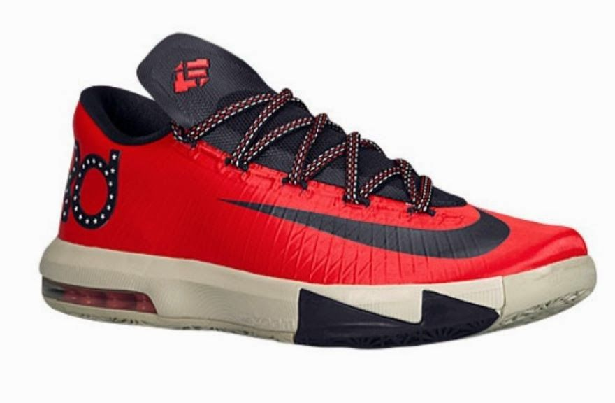 """THE SNEAKER ADDICT: 2014 Nike KD 6 VI """"DC"""" Sneaker Available Now (Detailed Look)"""