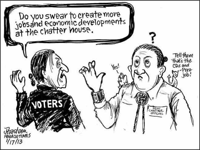 Navajo People Cartoons | Comics, by Jack Ahasteen - Navajo Times ...