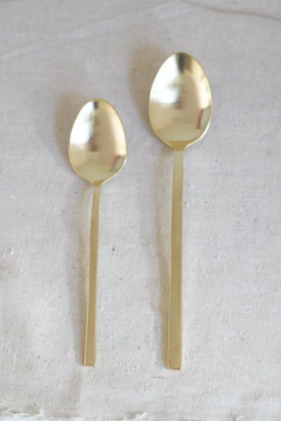 Chic old serving spoons: http://www.stylemepretty.com/living/2015/11/22/stress-free-holiday-entertaining/