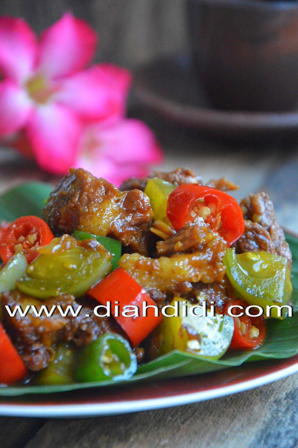 Daging Lombok Kethok Resep Masakan Resep Daging Makan Malam