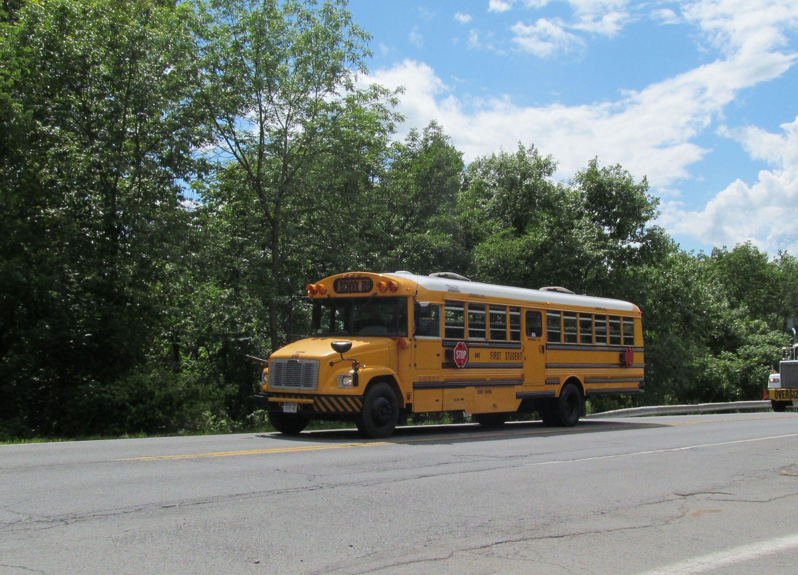 #648 subbing for buses Wallkill due to their... lack of ...