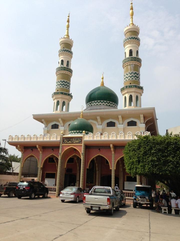 Darul Ibadah Masjid In Pattaya City Thailand Beautiful Mosques