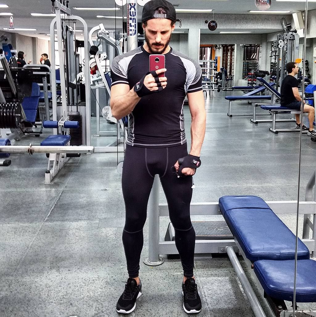 men style outfit legging men nike synchron fitness men moda  sc 1 st  Pinterest & men style outfit legging men nike synchron fitness men moda ...