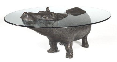 hippopotamus table