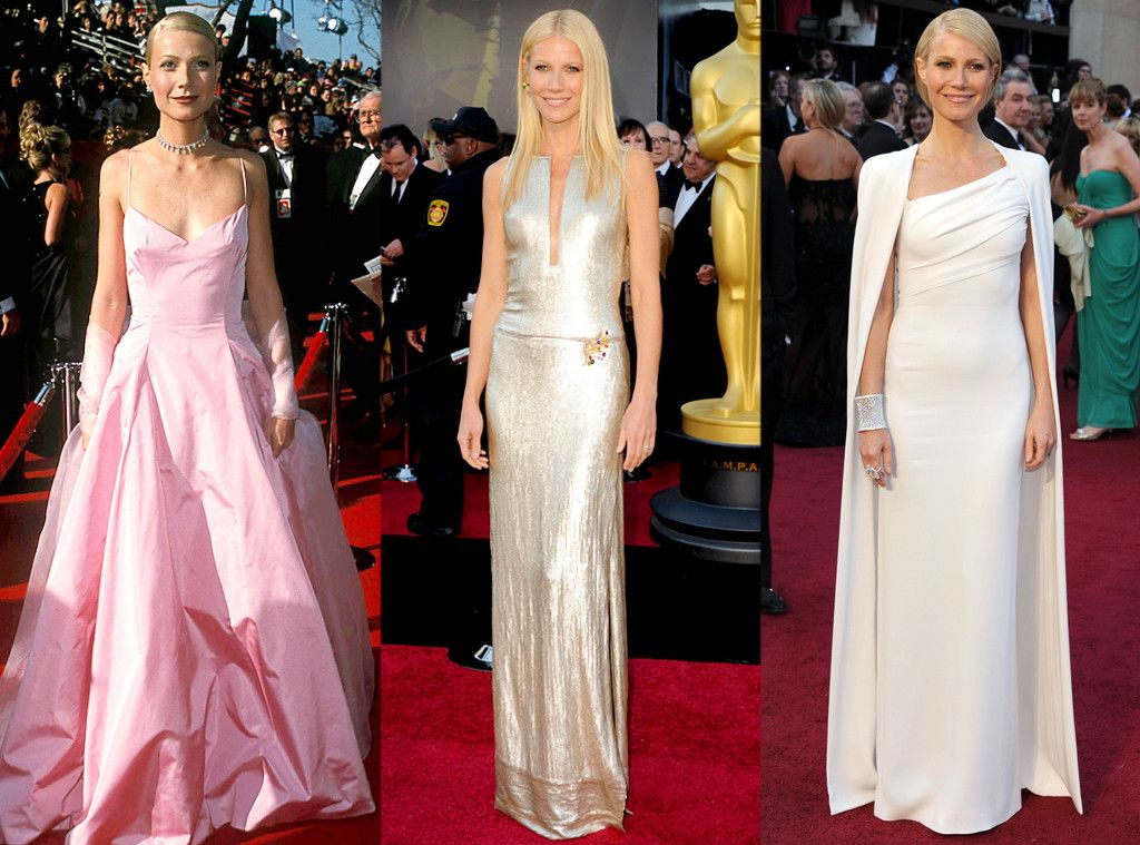 Gwyneth Paltrow From Oscar Gowns Through The Years