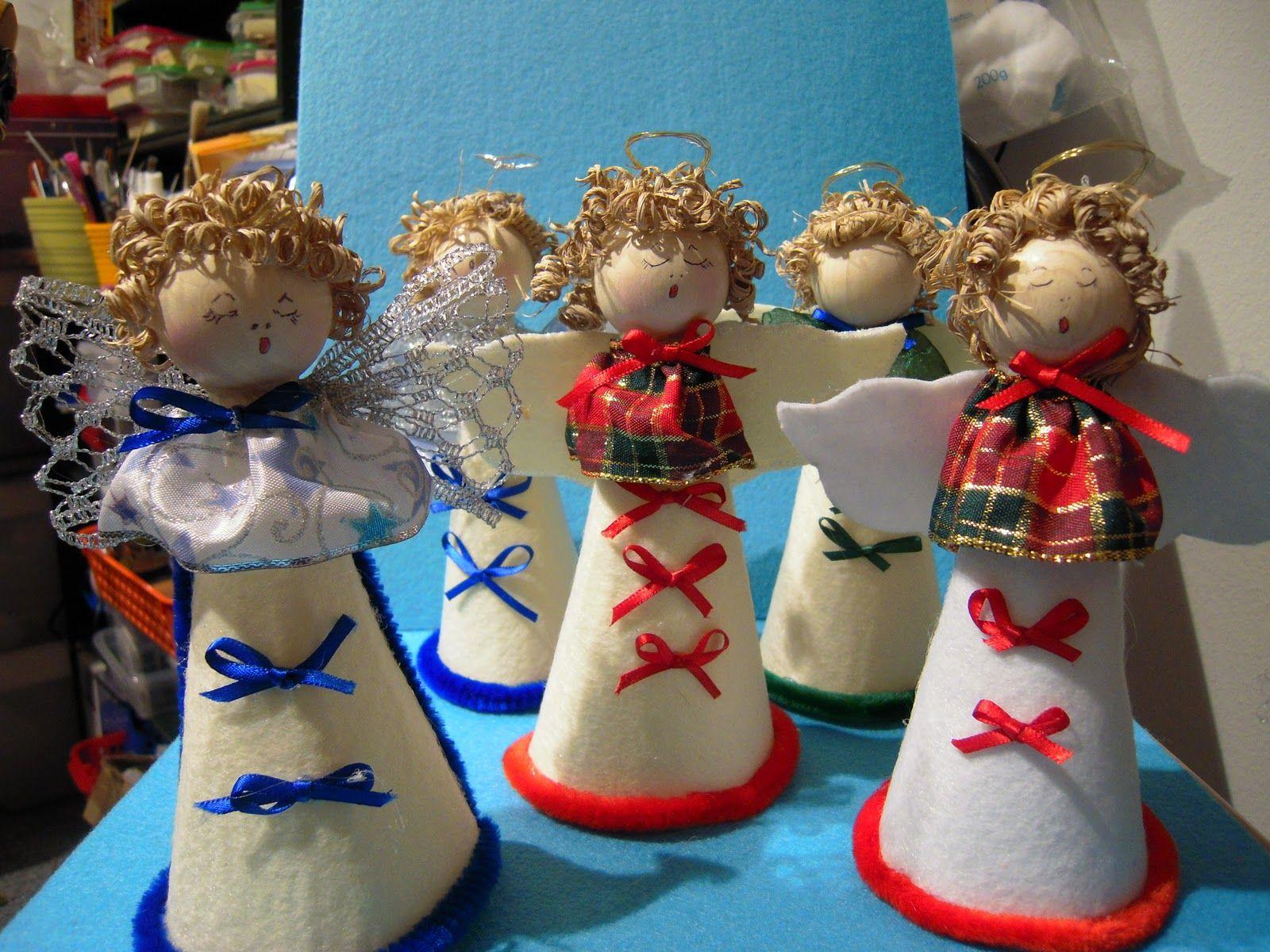 fare angeli di natale | Atelierbricolage: Angeli