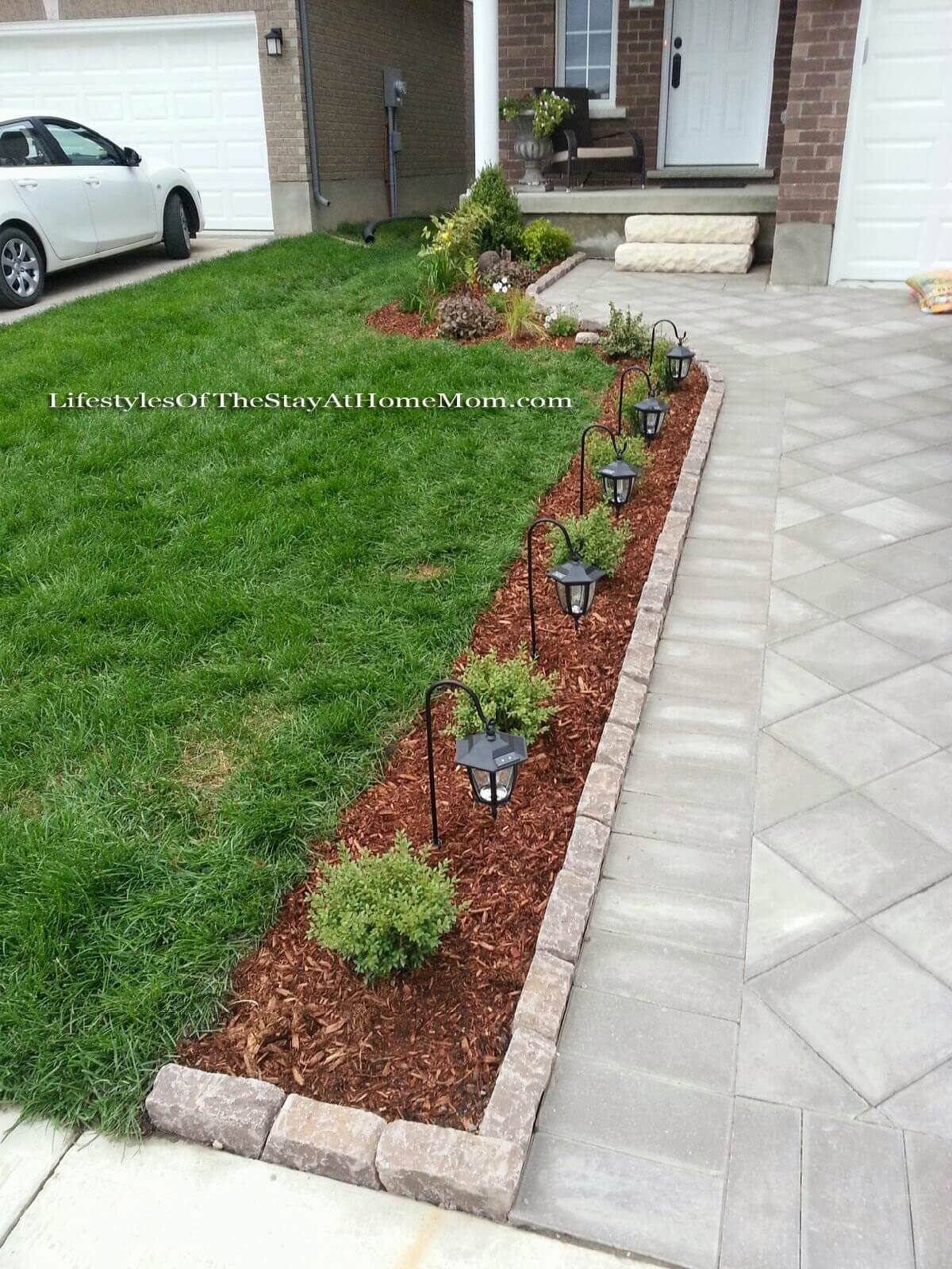 14 Smart Tricks of How to Makeover Front And Backyard Landscaping Ideas is part of Front lawn landscaping, Front garden design, Front yard landscaping design, Small front yard landscaping, Driveway landscaping, Front landscaping - When we Are speaking about the home decoration, we cannot overlook speaking about the Front And Backyard Landscaping Ideas  Backyard  the outdoor side of the