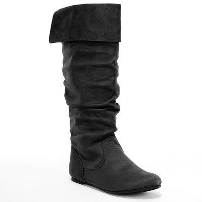 SO slouch boots- kohls my mom waited an