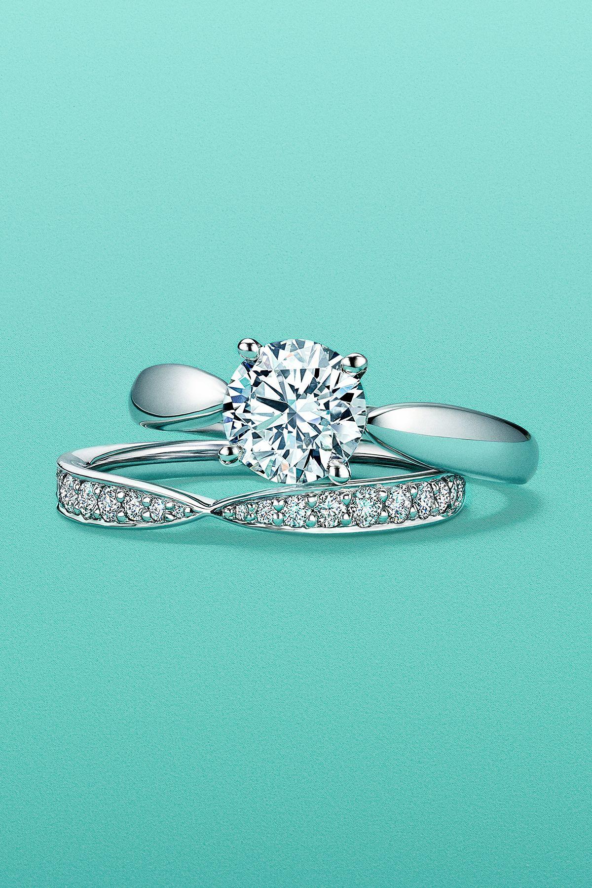 Tiffany Harmony Engagement Ring Tiffany Engagement Ring Wedding Rings Vintage Fine Engagement Rings
