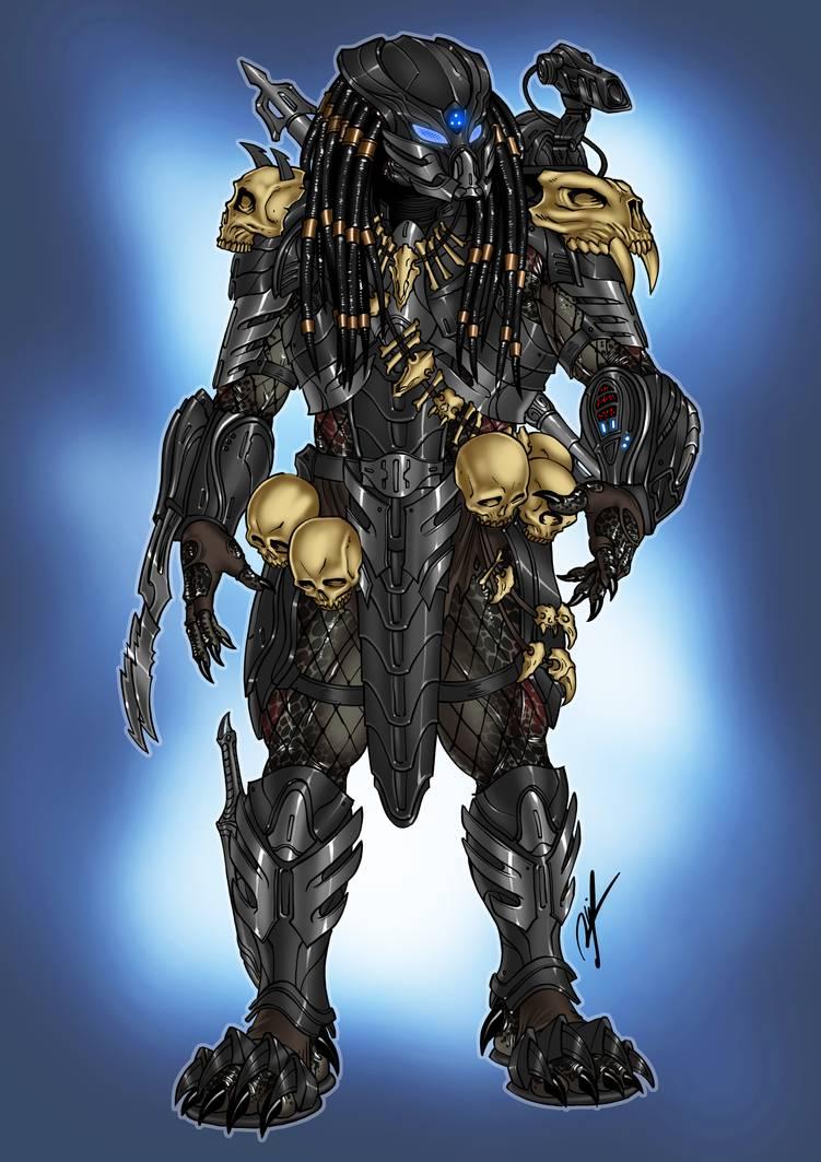 Predator like helmet commission