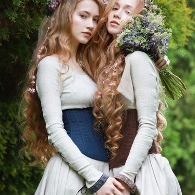"boned corset ""secret garden"" in 2020  garden dress"