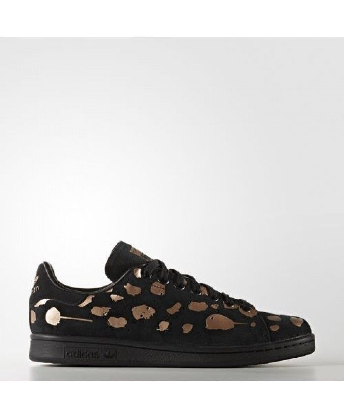 quality design 97a18 f299a Womens Adidas Stan Smith Core Black Core Black Copper Met. S32265