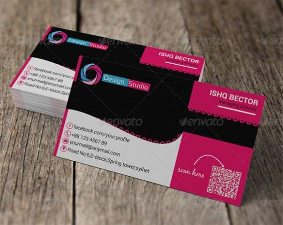 4 Sided Business Card Template Most Effective Ways To Overcome 4 Sided Business Card Templat Pink Business Card Free Business Card Templates Business Card Psd