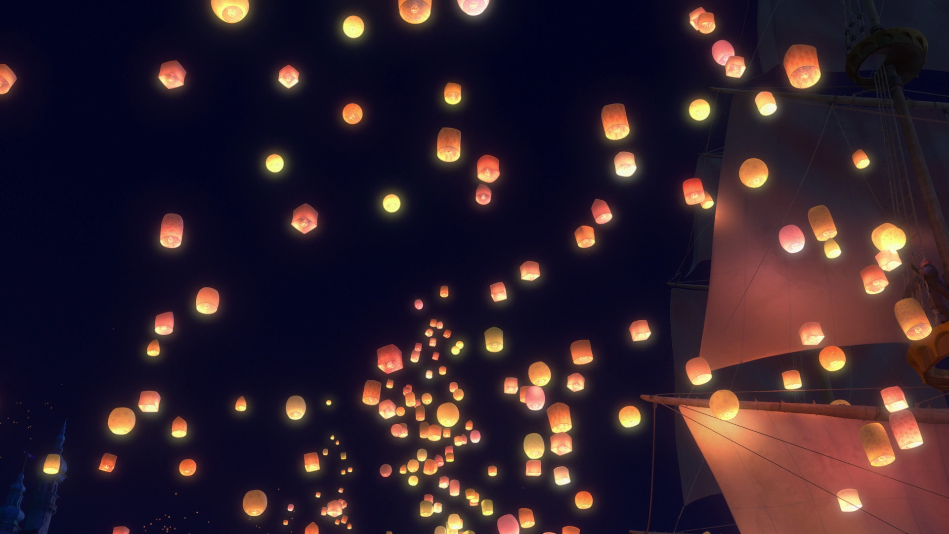 Lights Tangled Lanterns Tangled Disney Rapunzel